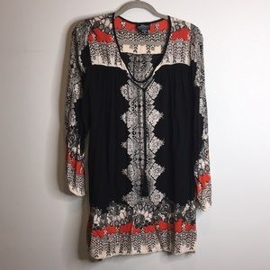 Bohemian Tunic. Gauzy. Medium. EUC